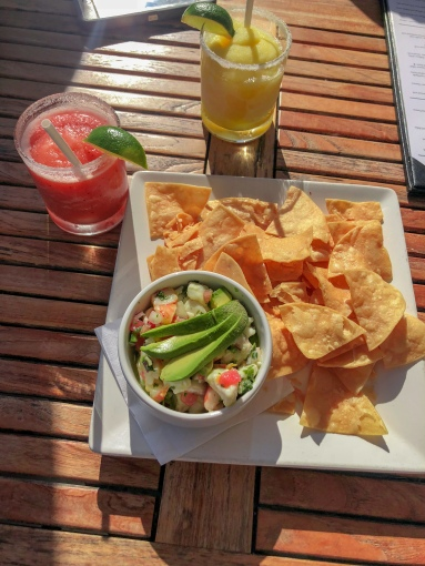 Margaritas and Ceviche- Appetizer